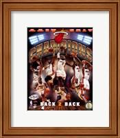 Miami Heat 2013 NBA Champions Composite Fine Art Print