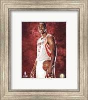 Dwight Howard #12 of the Houston Rockets posed Fine Art Print
