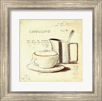 Parisian Coffee IV Fine Art Print