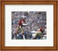 Joe Montana Super Bowl XIX 1985 Action Fine Art Print