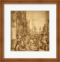 The Submission of the Emperor Frederick Barbarossa to Pope Alexander III Fine Art Print