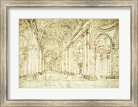 Interior of Saint Peter's Basilica Fine Art Print