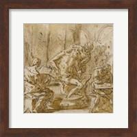 The Death of Seneca Fine Art Print