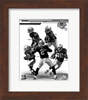 Oakland Raiders 2013 Team Composite Fine Art Print