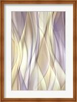 Sheer Lilac And Creme Fine Art Print
