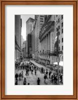 Wall Street HDR 1 Fine Art Print