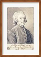 Portrait of Nicolas Michel Cury Fine Art Print
