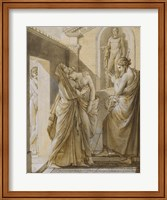 The Father of Psyche Consulting the Oracle of Apollo Fine Art Print