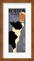 Boston Terrier Brewing Co Panel Fine Art Print