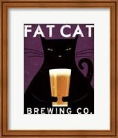 Cat Brewing no City Fine Art Print