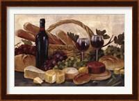 Tuscan Evening Wine Crop Fine Art Print