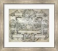The Destruction of Pharoah's Army Fine Art Print