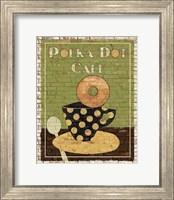 Polka Dot Cafe Fine Art Print