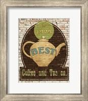 Best Coffee and Tea Fine Art Print