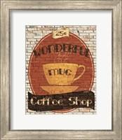 Wonderful Coffee Shop Fine Art Print