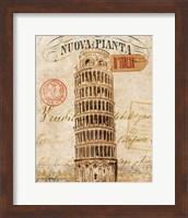 Letter from Pisa Fine Art Print