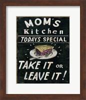 Mom's Kitchen Fine Art Print