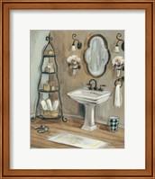 French Bath I Fine Art Print