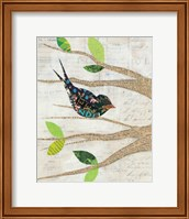 Birds in Spring III Fine Art Print