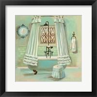 Glass Tile Bath II Fine Art Print