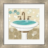 Dancing Bubbles I Fine Art Print
