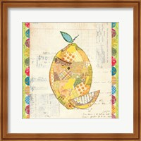Fruit Collage II - Lemon Fine Art Print