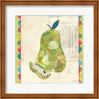Fruit Collage III - Pear - Fine Art Print