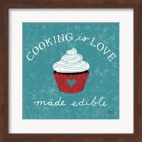 Cooking is Love Fine Art Print