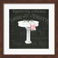 Chalkboard Bath I Fine Art Print