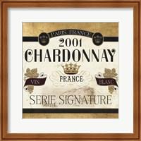 Wine Labels II Fine Art Print