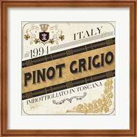 Wine Labels IV Fine Art Print