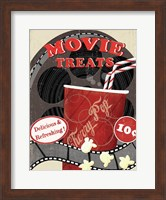 At the Movies II Fine Art Print