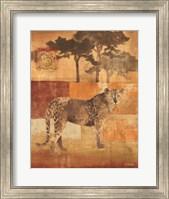 Animals on Safari III Fine Art Print