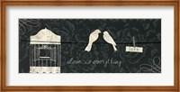 Love Paris Panel III Fine Art Print