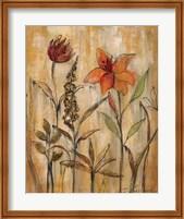 Aquarelle Garden II Fine Art Print