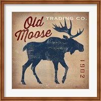 Old Moose Trading Co.Tan Fine Art Print