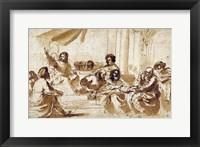 Christ Preaching in the Temple Fine Art Print