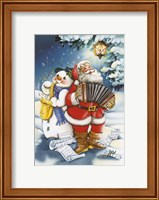 Christmas Carols Fine Art Print