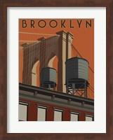 Brooklyn Travel Poster Fine Art Print