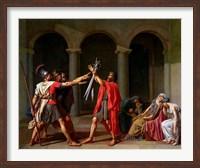 The Oath of Horatii Fine Art Print