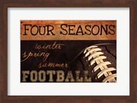 Four Seasons Football II Fine Art Print