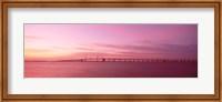 Dawn, Chesapeake Bay Bridge, Maryland, USA Fine Art Print