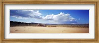 Old well and ranch in the desert, Utah, USA Fine Art Print