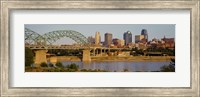 Bridge over a river, Kansas city, Missouri, USA Fine Art Print