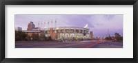 Baseball stadium at the roadside, Jacobs Field, Cleveland, Cuyahoga County, Ohio, USA Fine Art Print