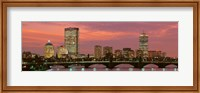 Back Bay, Boston, Massachusetts, USA Fine Art Print