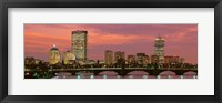 Back Bay, Boston, Massachusetts, USA Fine Art Print