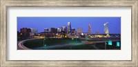 Kansas City, Missouri at Night Fine Art Print