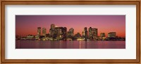 Sunset Boston MA Fine Art Print