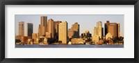 Sunrise, Skyline, Boston, Massachusetts, USA Fine Art Print